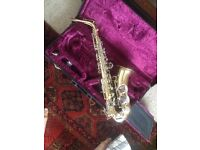 Alto Saxophone with case - Boosey and Hawkes