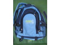 Holiday Studies Light Blue Backpack