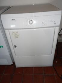 """Zanussi""Vented(hose) tumble dryer...7Kg.....Can be delivered."