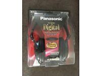 PANASONIC HEADPHONES - BRAND NEW