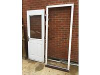 White composite door - very good condition