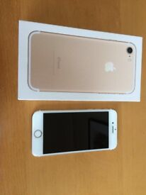 Iphone 7 32GB Rose Gold EE,T-Mobile,Virgin,Asda Boxed Immaculate