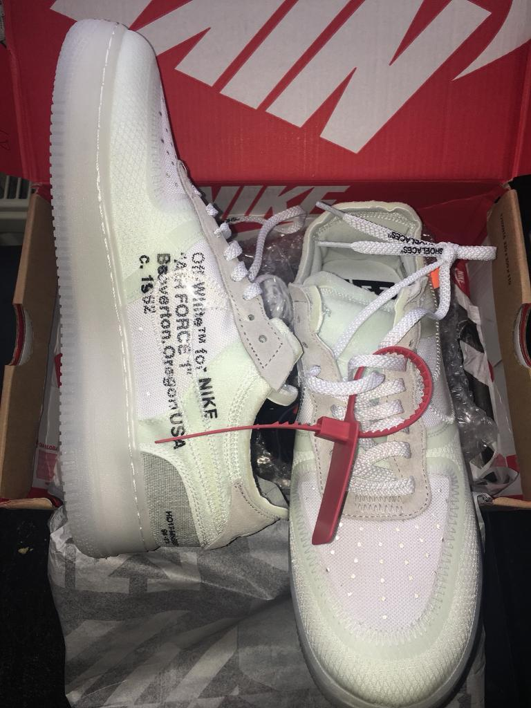 Air Force One - Off White - UK Size 9  0a80f2f2c0dc