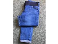 Maternity jeans and leggings size 16