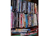 DVD's for FREE. collection needed of whole box of 50 or so.