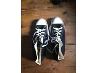 Converse Chuck Taylor Black Size 10 Men's Casual Trainers Brand New (missing box)