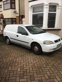Vauxhall Astravan 2001 180963 miles.