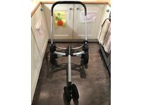 Complete travel system-Quinny Buzz 3 pushchair, carrycot & Maxi-Cosi car seat