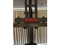 Home gym pro power n everlast treadmill