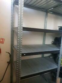 Industrial metalsistem 10 bays racking
