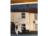1-2 Bedroom Terrace house for long term rent-Lower Cliff Road, Gorleston.