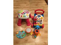 Baby Walker,activity table various toys for sale