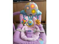 Chicco Balloon Baby Bouncy/Bouncer Chair/Seat/Rocker