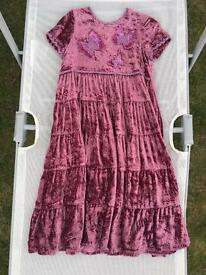 Monsoon Dress Age 5-6