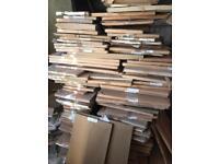 Kitchen worktop units doors panels desk carcass bathroom job lot FREE