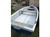 Boat and trailer, ideal for fishing
