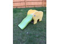 Outdoor Elephant slide