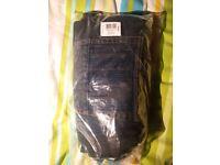 NEW sealed Charles Wilson dark wash jeans, waist 38 inch, inside leg 33 inch