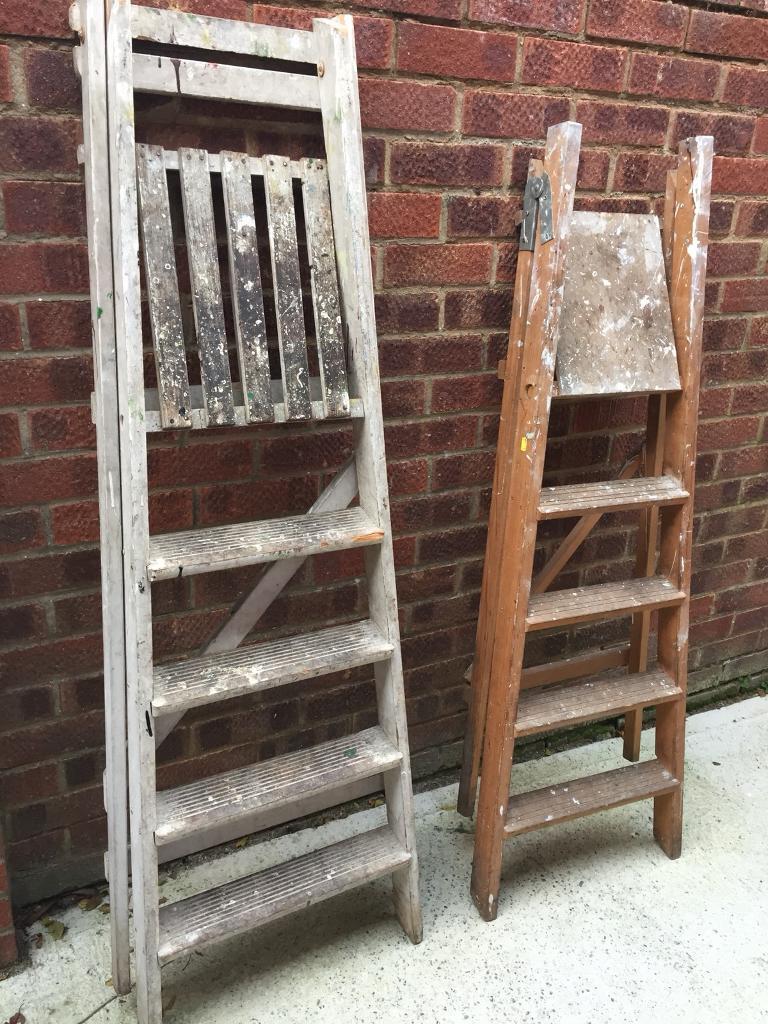 Wooden Step Ladders Wedding Accessories