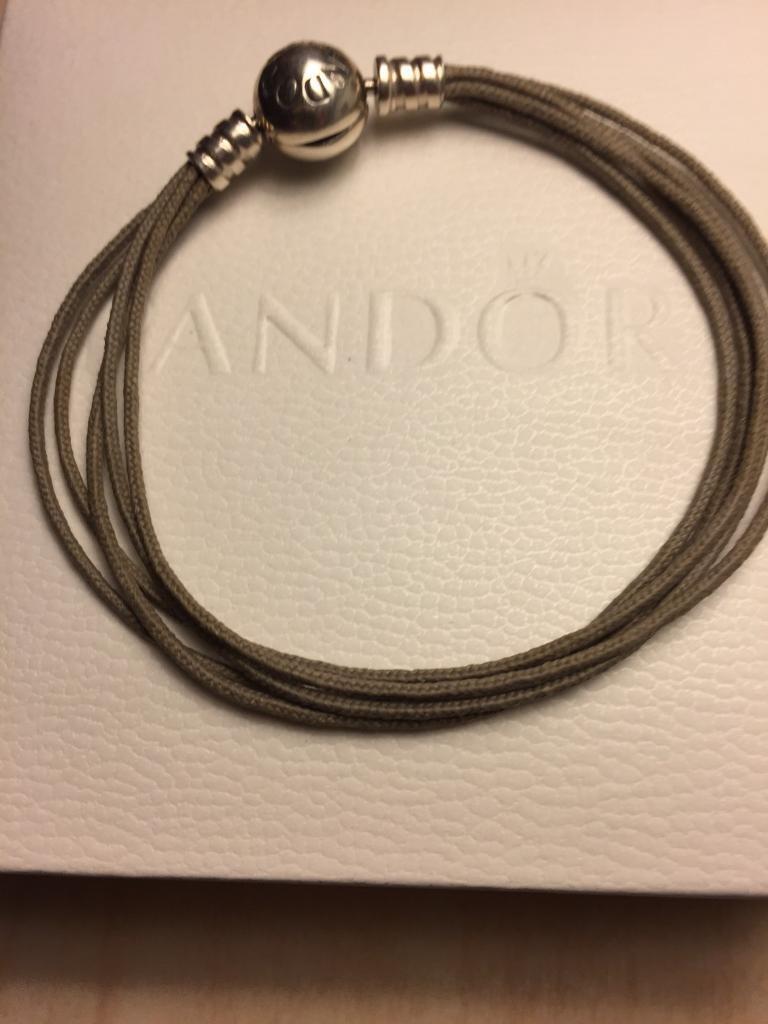 Genuine Pandora Multi Strand Bracelet