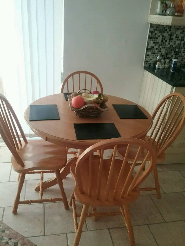 Table and 4 chairs ,excellent condition ,,SOLD in Ely, Cardiff Gumtree