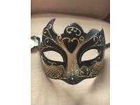 3 x Venetian masks