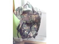 Large army backpack