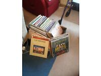 200+ vinyl records job lot