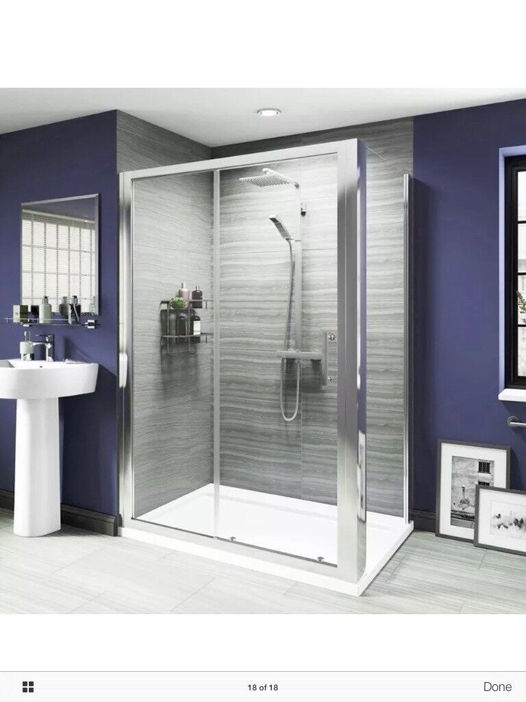 Walk in shower enclosure brand new in boxes | in Tain, Highland ...