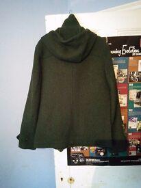 Scotch & Soda Green Woollen Jacket