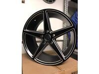 "4 18"" alloy wheels alloys rims tyre tyres bmw Vauxhall insignia Vw Volkswagen transporter t5 Amerok"