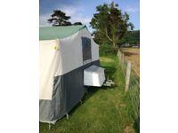trailer tent ,conway cambourne 8 berth