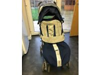 Maclaren techno xt includes footmuff & raincover. Immaculate condition