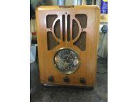 Replica radio cassette player.