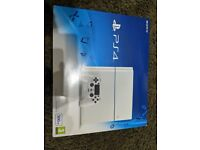 almost new sony playstation 4, ps4 bought from GAME, games imcluded