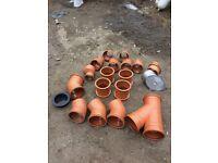 Drain pipe fittings 160mm