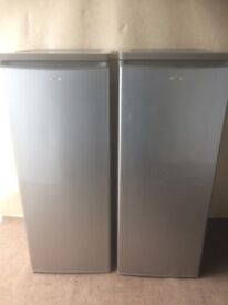 Logic silver gray Tall fridge and freezer(delivery available)