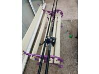 Beach Fishing rods