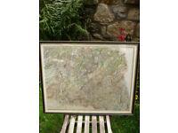 ANTIQUE 1827 DATED MAP EDINBURGH SHIRE JOHN THOMSON ATLAS of SCOTLAND EDINBURGH