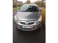 2008 vauxhall corsa 1.2 petrol 5 door manual