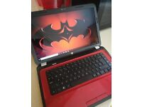Red HP G6 i5 Laptop with Office