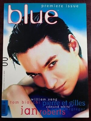 (not only) Blue Magazine #00, February 1995, As NEW Not Pre-Owned PREMIERE ISSUE