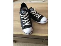 BRAND NEW CHUCK TAYLOR ALL STAR DAINTY CONVERSE BLACK
