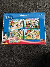 Mickey Mouse 4in1 puzzle