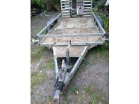 Ifor williams maxi plant trailor, 6ft x 12 ft,would suit 2.5 tonne mini digger or similar