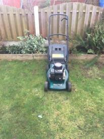 Hayter mower for sale serviced