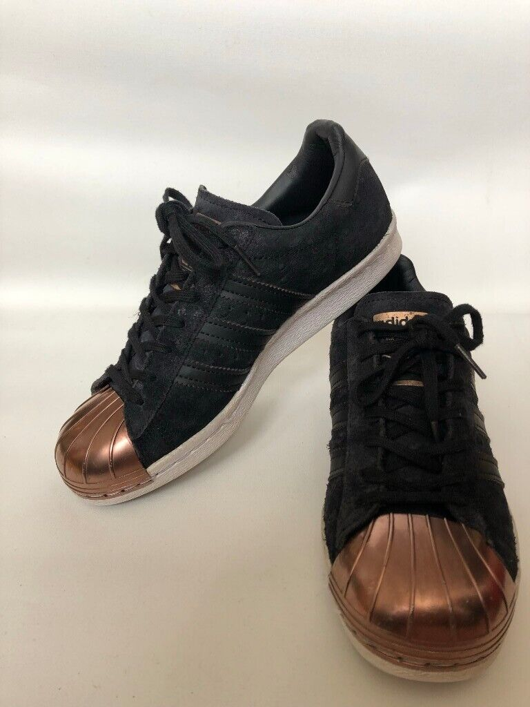 low priced 70a6a 642a5 Adidas Superstars 70's black/rose gold | in Clapham, London | Gumtree