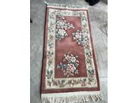 Hand made washed Chinese rug