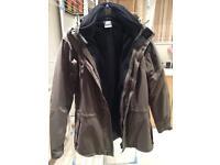 Jack wolf skin men's 3-1 jacket xxl as new