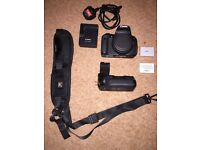 CANON EOS 700D dslr with accessories